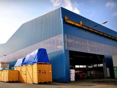 Hallen von HHM Industriebau