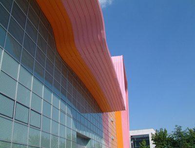 Dächer von HHM Industriebau