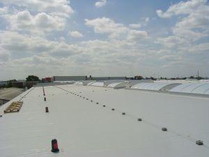Lichtkuppel und RWA-Anlagen von HHM Industriebau