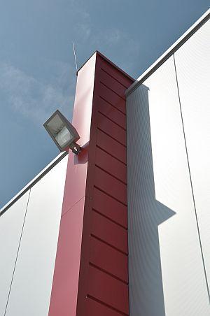 Unterkonstruktion und Kantteile von HHM Industriebau